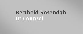 Berthold Rosendahl