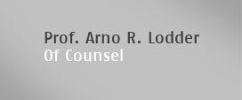 Prof. Arno R. Lodder